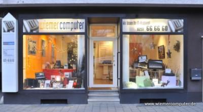 Ladenlokal und Werkstatt von Wiemer Computer in der Wolbecker Straße 89 in Münster